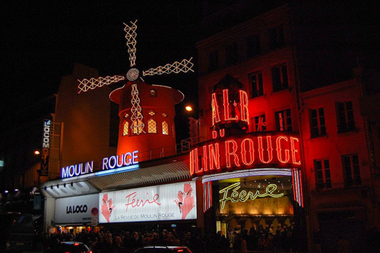 Moulin rouge cabaret paris